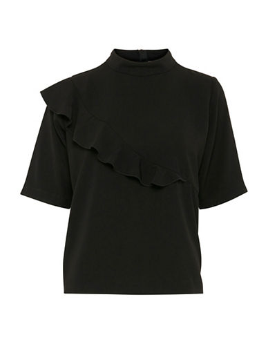 B. Young Filippo Blouse-BLACK-36