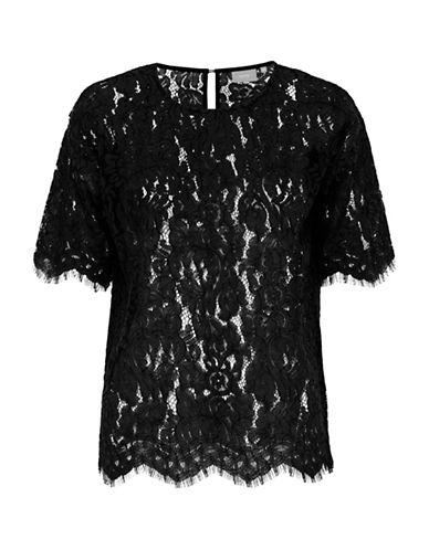 B. Young Higia Lace Top-BLACK-36