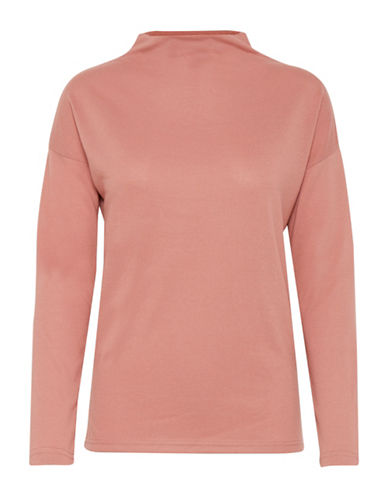 Ichi Linea Soft Pullover-PINK-Small