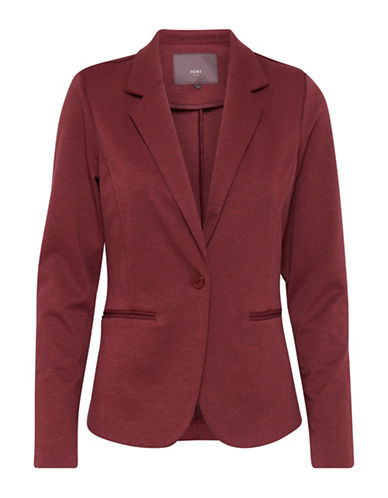 Ichi Kate Blazer-RED-X-Small