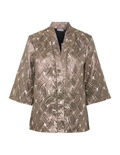 B. Young Ilsa Printed Kimono-GOLD-46