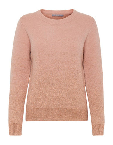 B. Young Nahira Wool-Blend Sweater-WARM ROSE-X-Small