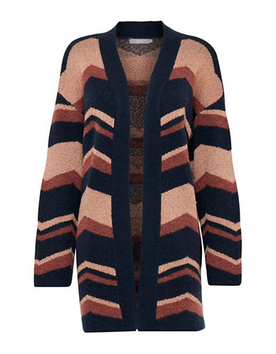 B. Young Nahira Wool-Blend Cardigan-MULTI-X-Small