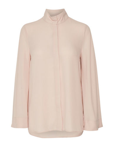 Inwear Long-Sleeve Mock Neck Shirt-PINK-38