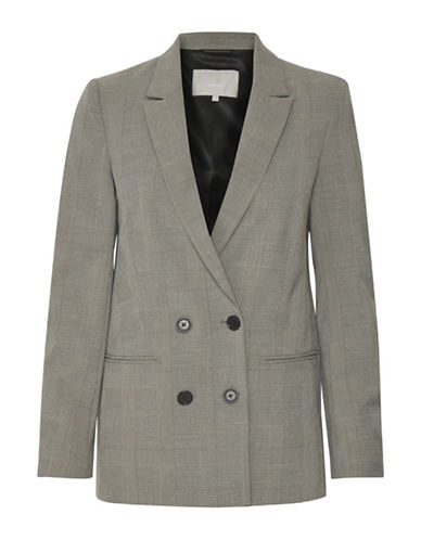 Inwear Cala Notch Lapel Blazer-GREY-40