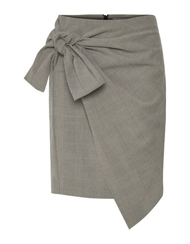 Inwear Cala Wrap Skirt-GREY-40