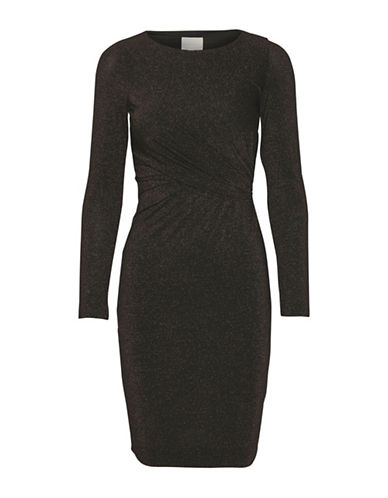 Inwear Krystal Long-Sleeve Dress-COPPER-X-Large