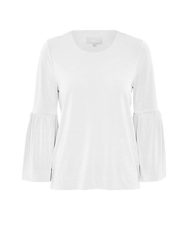 Inwear Karma Bell Sleeve Top-WHITE-Large