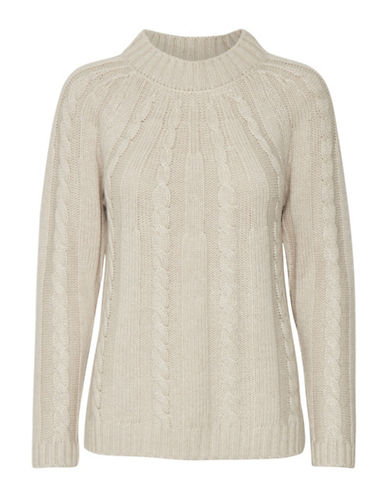 Part Two Jacelyn Knit Sweater-BEIGE-Small