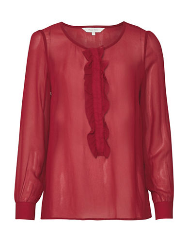 Part Two Jazlyn Blouse-RED-40