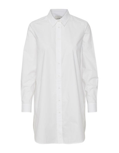 Part Two Janviere Button-Down Shirt-WHITE-36
