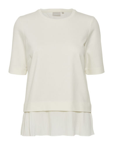 Inwear Tamar Pleated Top-WHITE-Large 89953679_WHITE_Large