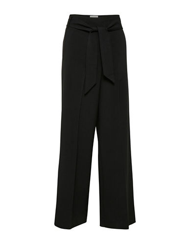 Inwear Self-Tie Pants-BLACK-34