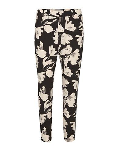 Inwear Floral-Print Pants-BLACK-44