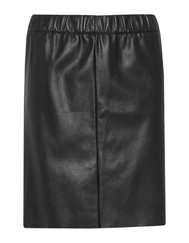 Ichi Daya Straight Skirt-BLACK-36