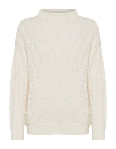 B. Young Niki Knit Pullover-WHITE-Small