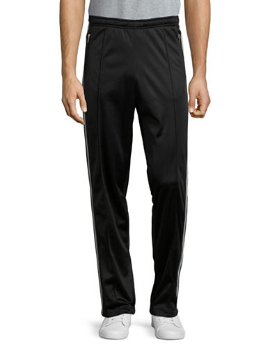 Wood Wood Irvin Track Pants-BLACK-Medium