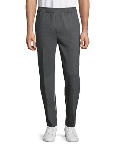 Wood Wood Tailored Joggers-GREY-Small