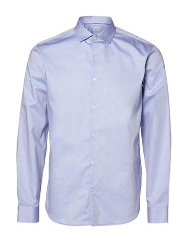 Selected Homme Calgary Sport Shirt-LIGHT BLUE-Large
