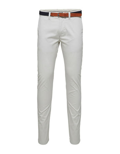 Selected Homme Moonstruck Slim Pants-GREY-33X32