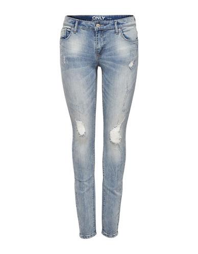 Only onlCarmen Skinny Jeans-LIGHT BLUE-30
