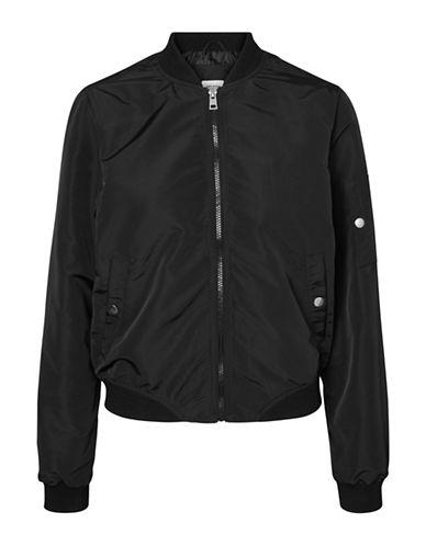 Vero Moda Bomber Jacket-BLACK-Large 88929144_BLACK_Large