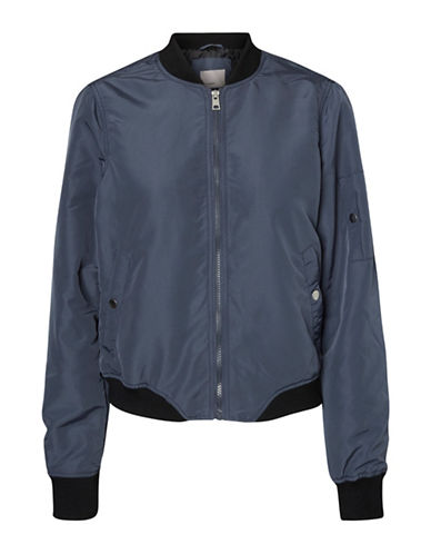 Vero Moda Bomber Jacket-BLUE-Large 88929148_BLUE_Large