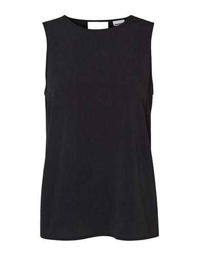 Noisy May Cut-Out Sleeveless Top-BLACK-Medium 88982583_BLACK_Medium