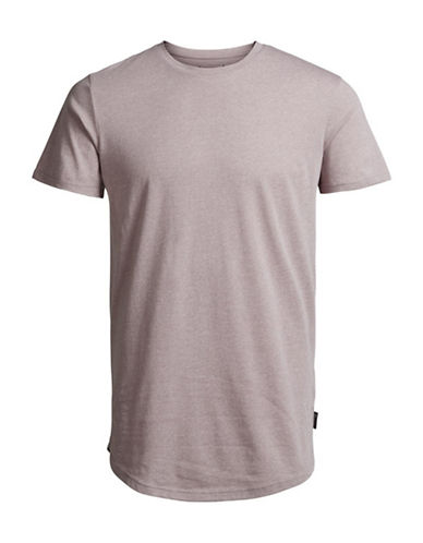 Jack & Jones Plain T-Shirt-PINK-Medium 88892962_PINK_Medium