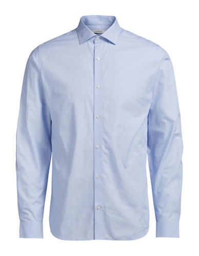 Jack And Jones Premium Regular-Fit Long Sleeve Shirt-LIGHT BLUE-X-Large