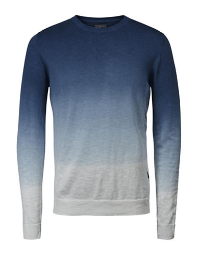 Jack & Jones Jorash Ombre Knit Tee-BLUE-X-Large 89085454_BLUE_X-Large
