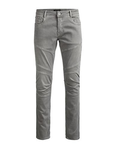 Jack & Jones Glenn Panel Slim Fit Jeans-GREY-34X34
