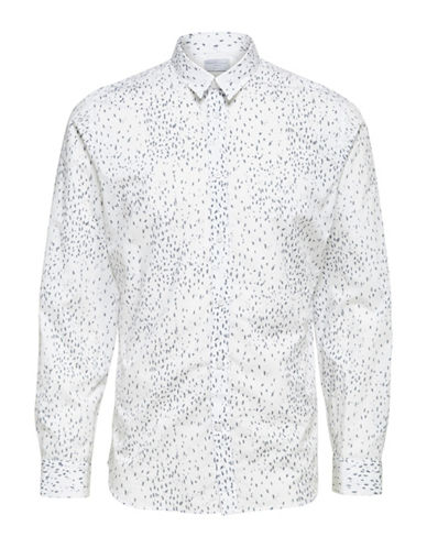 Selected Homme Shdtwopaper Regular Fit Shirt-WHITE-Large