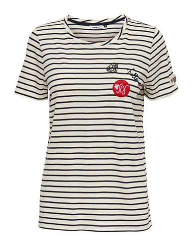 Only OnlCOOL Patches T-Shirt-WHITE-Small 88829977_WHITE_Small