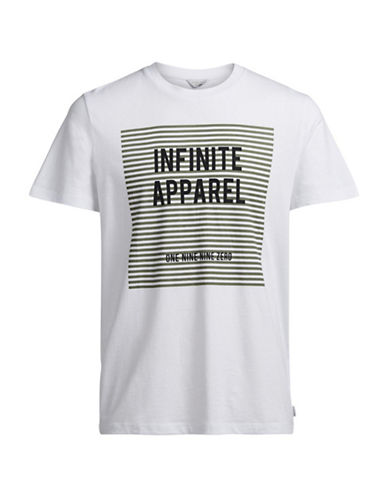 Jack & Jones Graphic T-Shirt-WHITE-X-Large 88892959_WHITE_X-Large