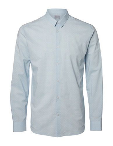 Selected Homme SHDTWOHENRI Shirt-LIGHT BLUE-Large
