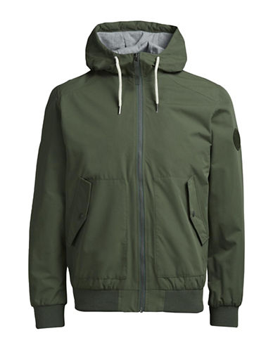 Jack & Jones Light Zip Jacket-GREEN-Medium 88983752_GREEN_Medium