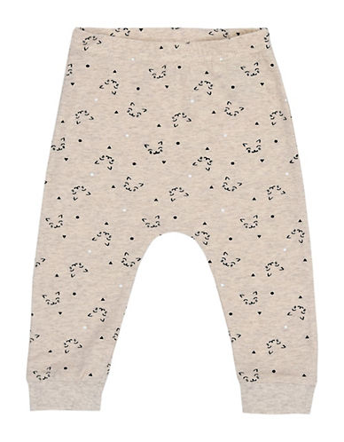 Name It Stretch Jogger Pants-WHITE-3-6 Months