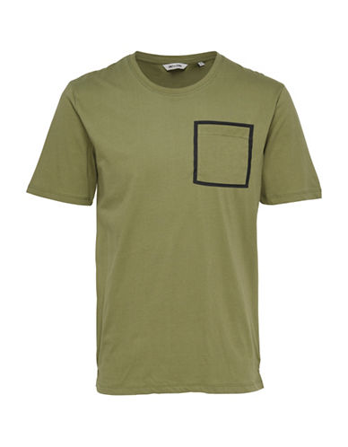 Only And Sons Tony Fishtale Tee-GREEN-Large 89092139_GREEN_Large