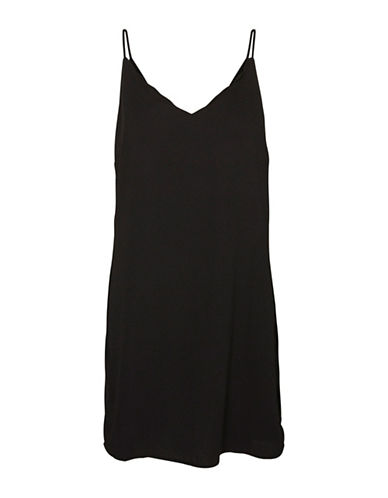 Vero Moda Katie Singlet Shift Dress-BLACK-Large 88861361_BLACK_Large