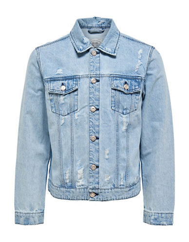 Only And Sons onsROCKER Denim Jacket-BLUE-XX-Large 88915334_BLUE_XX-Large
