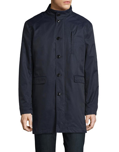 Selected Homme Raincoat with Removable Lining-BLUE-XX-Large