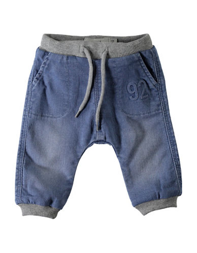 Name It Denim Jogger Pants-BLUE-2 Months