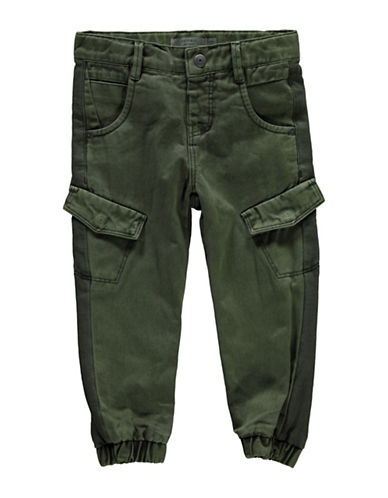 Name It Jersey Cargo Pants-GREEN-4