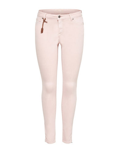 Only onlSERENA Regular-Fit Skinny Ankle Pants-PINK-40