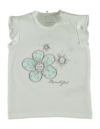Name It Embroidered Sleeveless Top-WHITE-4 Months
