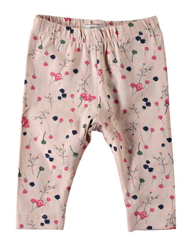 Name It Floral Print Leggings-PINK-6 Months