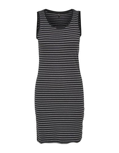 Only onlCORNELIA Stripe Dress-BLACK-Small