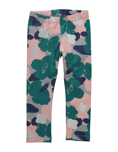 Name It Floral-Print Leggings-GREY-4