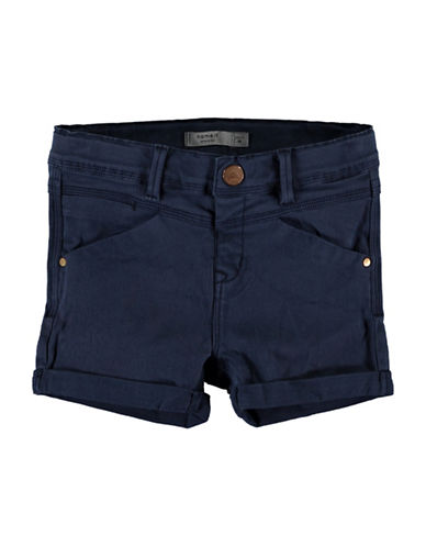 Name It Name It Slim Shorts-NAVY-2T